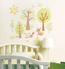 stickers chambre de bebe stickers chambre bébé histoires d animaux