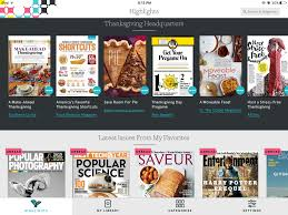 thanksgiving app texture magazine app for ios review