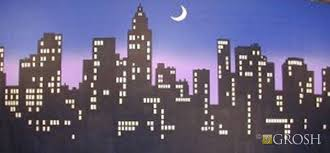 New York City Themed Party Decorations - image result for new york city skyline party backdrop broadway
