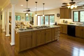 Kitchen Room   Kitchen Family Room Combination Decor Ideas - Family room cabinet ideas