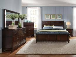 dark brown wood bedroom furniture standard furniture sonoma panel bedroom set in dark brown 86600