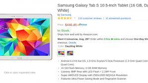 amazon black friday samsung tablet tab s samsung galaxy tab s archives android origin