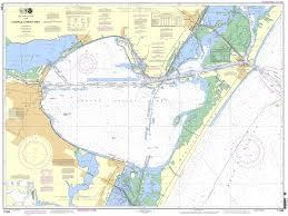 Corpus Christi Map Noaa Chart 11309 Corpus Christi Bay