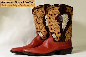 the best handmade cowboy boots you can buy in oregon staplemans