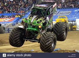 monster truck show in michigan jan 16 2010 detroit michigan u s 16 january 2010 grave