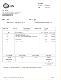 28 xl invoice template xls printable us example sample long