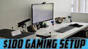 Best Gaming Computer Desks by Best Gaming Setup Under 100 Youtube