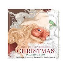 night christmas visit st nicholas coloring book