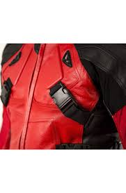 red motorcycle jacket deadpool motorcycle leather jacket
