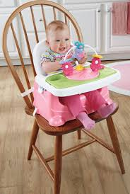 Booster Seat Dining Chair Child On Fisher Price Pretty In Pink Feeding Booster Seat Elephant
