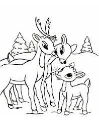christmas reindeer colouring pages and printable sheets santa u0027s