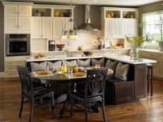 kitchen island with table combination kitchen island table combo pictures ideas from hgtv hgtv