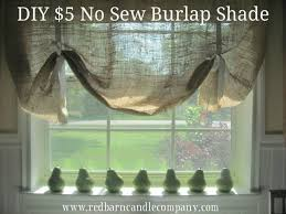 No Sew Roman Shades Instructions - charming burlap roman shades and diy burlap roman shades from