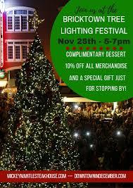 bricktown tree lighting festival join us november 25th