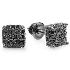 black diamond earrings studs 271 best black diamond rings earrings and necklaces images on