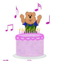 happy birthday singing happy birthday song singing cake animated animation animations