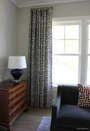 bathroom with schumacher iconic leopard drapes