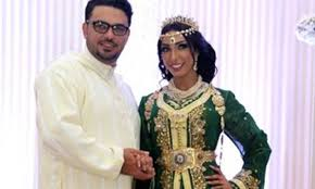 dounia mariage caftan et djellaba de maroc mariage de dounia batma