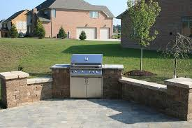 patio grill pittsburgh outdoor kitchens backyard built in gas bbq grill