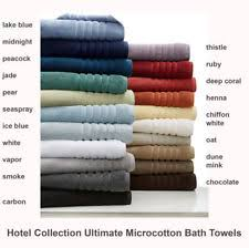 Lacoste Bathroom Set Hotel Collection Towels Ebay