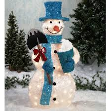 cozy design outdoor snowman christmas decorations marvelous