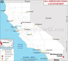 location canap where is all canal located in california usa
