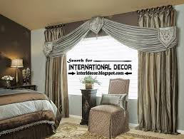 Classic Orange Curtain Designs And Window Treatment Curtain - Bedroom curtain design ideas