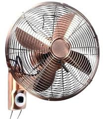 oscillating fan and heater industrial wall fans retro wall mount oscillating fan with string