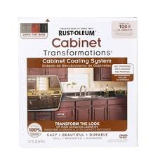 Home Depot Cabinet Paint Rust Oleum Transformations Dark Color Cabinet Kit 9 Piece 258240