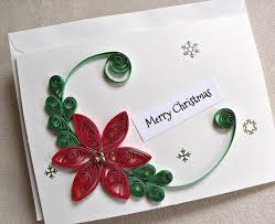 handmade paper quilled christmas card u2013 from sayitwithblooms on