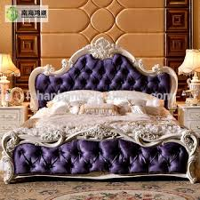 barocco bedroom set luxury classic king size wood mdf royal french style barocco