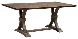 Anthropologie Dining Room Anthropologie Signature Rustic Dining Table Traditional Dining