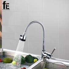 solid brass kitchen faucet fie solid brass kitchen mixer cold and kitchen tap single