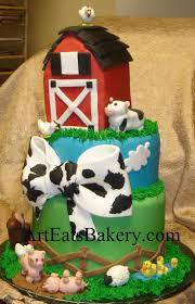 farm animal baby shower cakes baby shower decoration