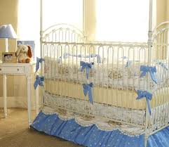 rabbit crib bedding bunny blue cottontail crib bedding featured at babybox
