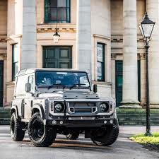kahn land rover defender a kahn design lr defender is manly beyond belief