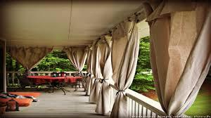 sunroom idea sun porch curtains outdoor porch curtains drop cloth