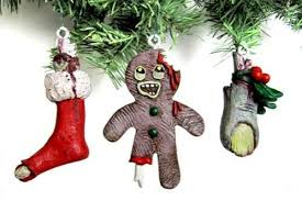 undead decor ornaments