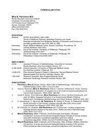 sample medical resume medical admissions resume