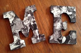 diy photo collage letters diy do it your self