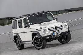 mercedes g wagon mercedes benz celebrates 35 years of the g class
