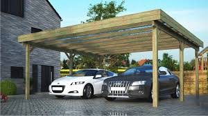 design carport holz flachdachcarports freistehende carports aus holz