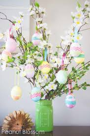 easter egg tree 27 easter table decorations table decor ideas for easter brunch