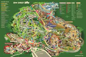 chicago zoo map map san diego zoo