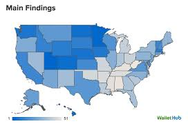 happiest states in america the happiest and most unhappy states revealed