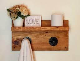 pipe shelf dorm decor wall shelf rustic floating shelf towel
