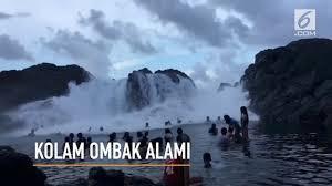 vidio film ombak video serunya kolam ombak alami di filipina lifestyle liputan6 com