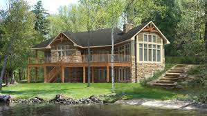 Hillside Cabin Plans Walkout Basement House Plans Hillside House Plans With Walkout
