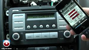 volkswagen rabbit 2007 aux u0026 ipod adapter usaspec pa11 vw6 youtube