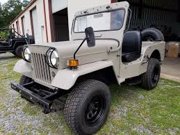 willys jeep pickup for sale made by mitsubishi 1987 willys jeep cj3b military for sale